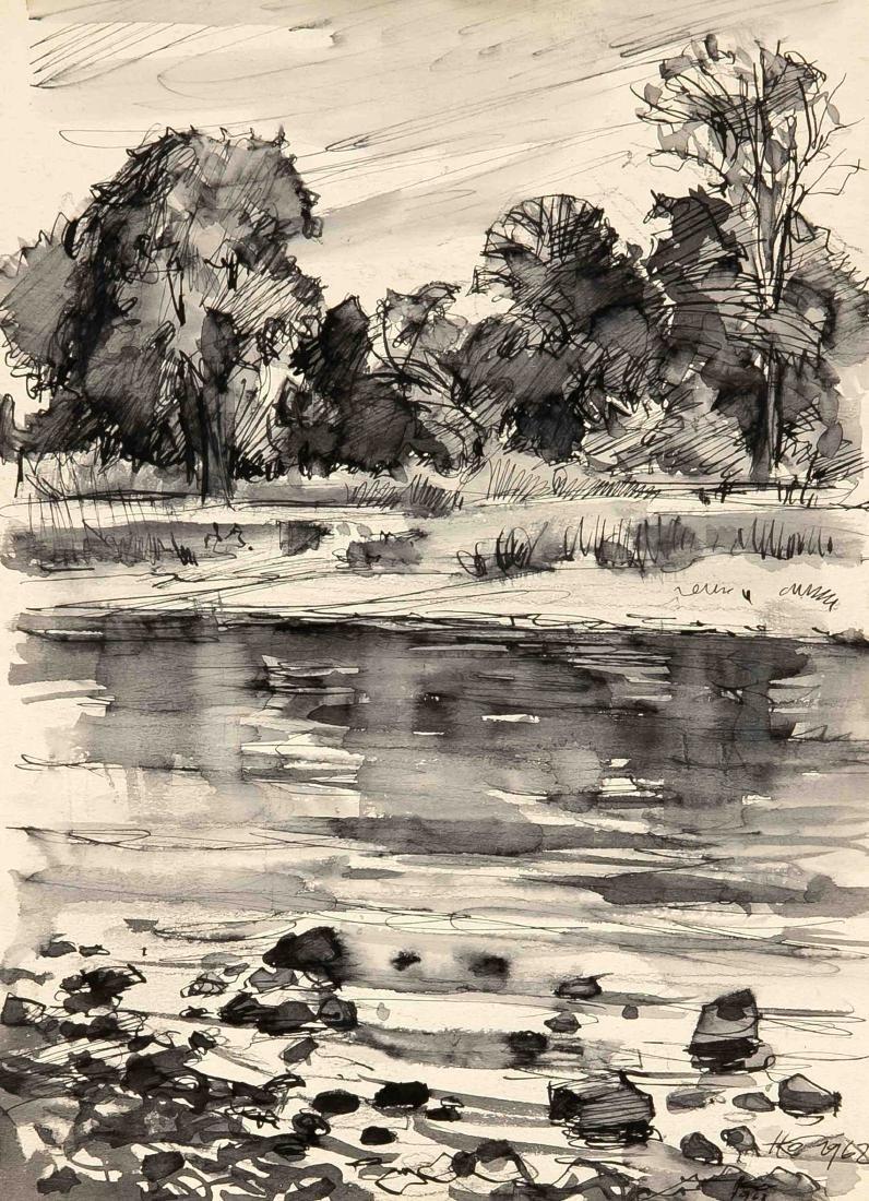 Hermann Kohlmann (1907-1982), deutscher Maler, - 6