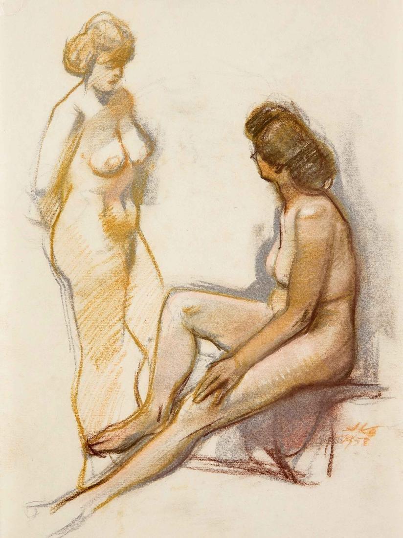 Hermann Kohlmann (1907-1982), deutscher Maler,