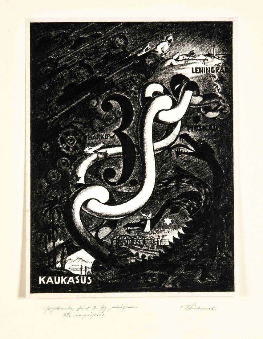 Kurt Kühnel (?-1943), studierte an der Prager - 7