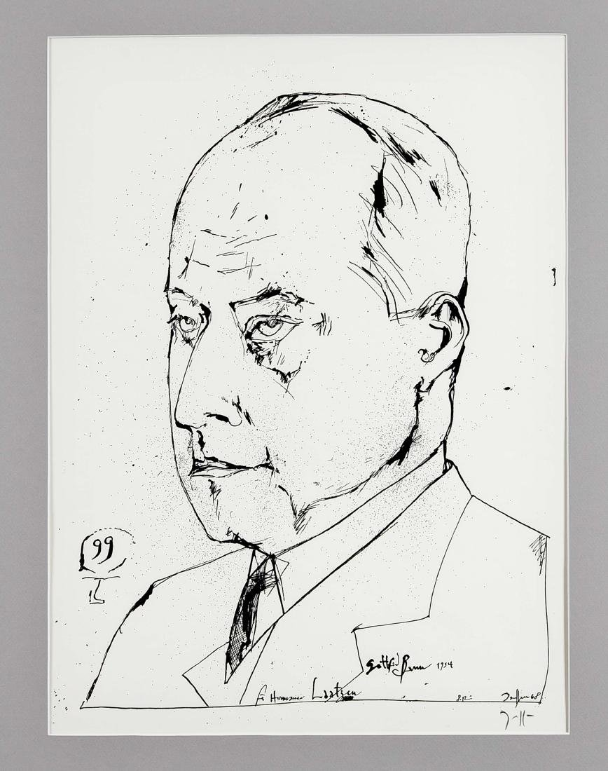 Horst Janssen (1929-1995), Konvolut von drei