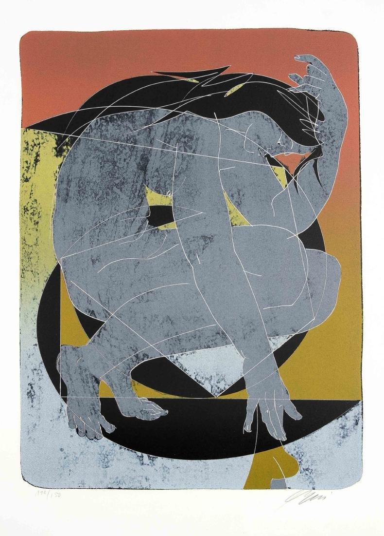 Hans Erni (1909-2015), Schweizer Maler, Grafiker und