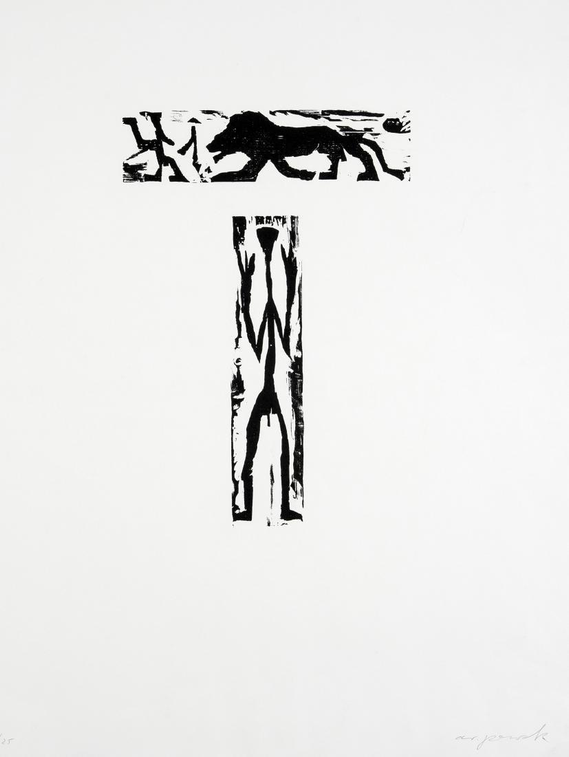 A.R. Penck d.i. Ralf Winkler (1939-2017), Ohne Titel,