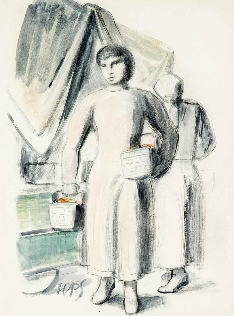 Werner Paul Schmidt (1888-1964), Münchener Maler,
