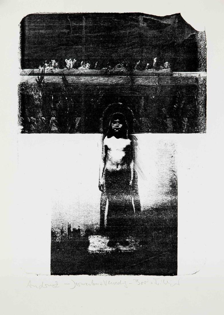 Boris Fröhlich (*1947), Grafiker in Düsseldorf und - 2