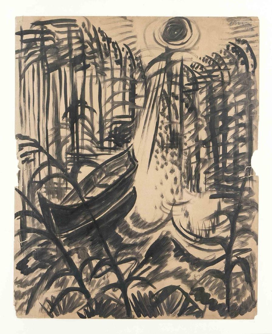 Max Pechstein (1881-1955), ''Exotic Landscape'', 1914,