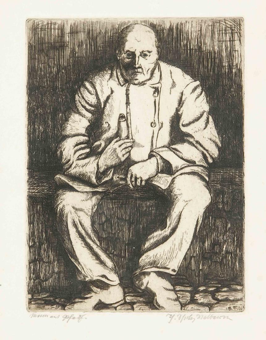 Theodor Schultz-Walbaum (1892-1977), zwei Radierungen, - 2
