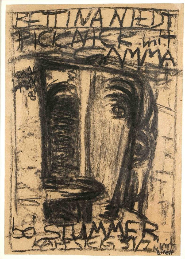 Bettina Niedt (*1957), Berliner Malerin aus dem Umkreis