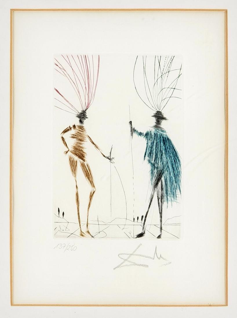 Salvador Dalí (1904-1989), ''The Two Gentlemen of