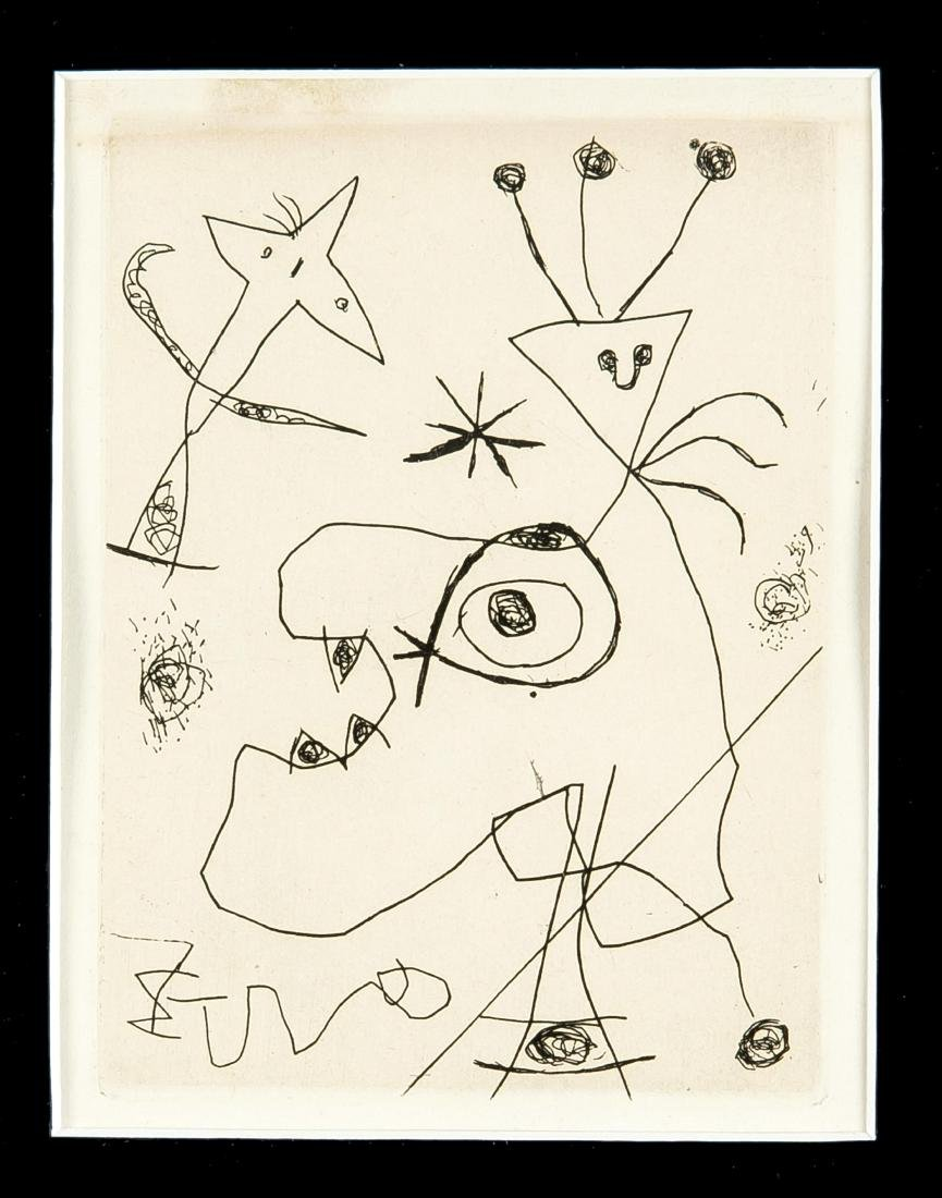 Joan Miró (1893-1983), ''L'Aigrette'' (The Feather