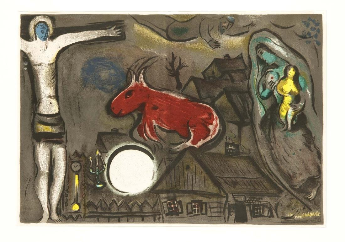 Marc Chagall (1887-1985), ''Christ, red ox and