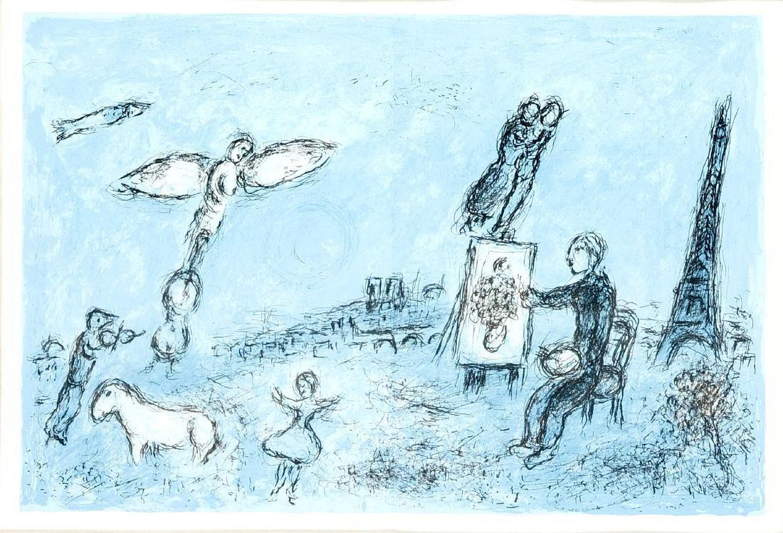 """Marc Chagall (1887-1985), """"Der Maler und sein Abbild"""","""