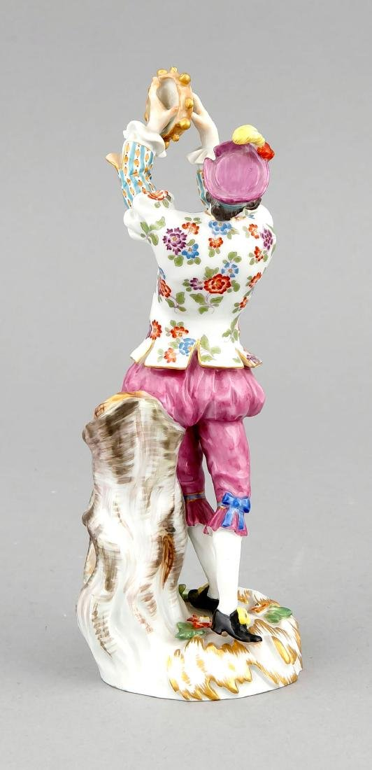 Tambourine player, Meissen, after 1973, 1st quality, - 4