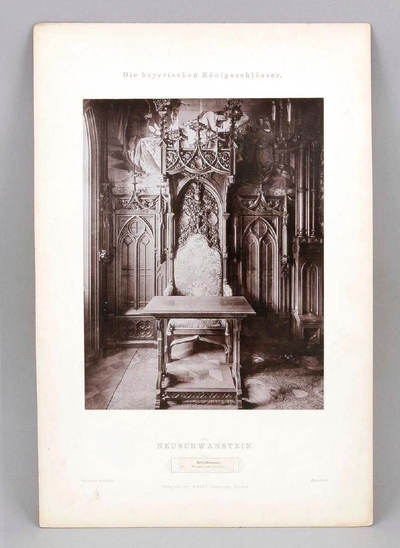 A rare Neuschwanstein photo album, Joseph Albert ''Die - 4