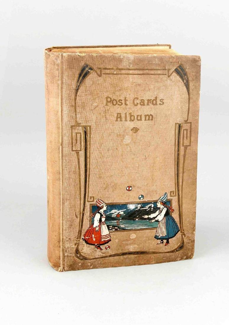 An album with German postcards before 1945, topographic - 2