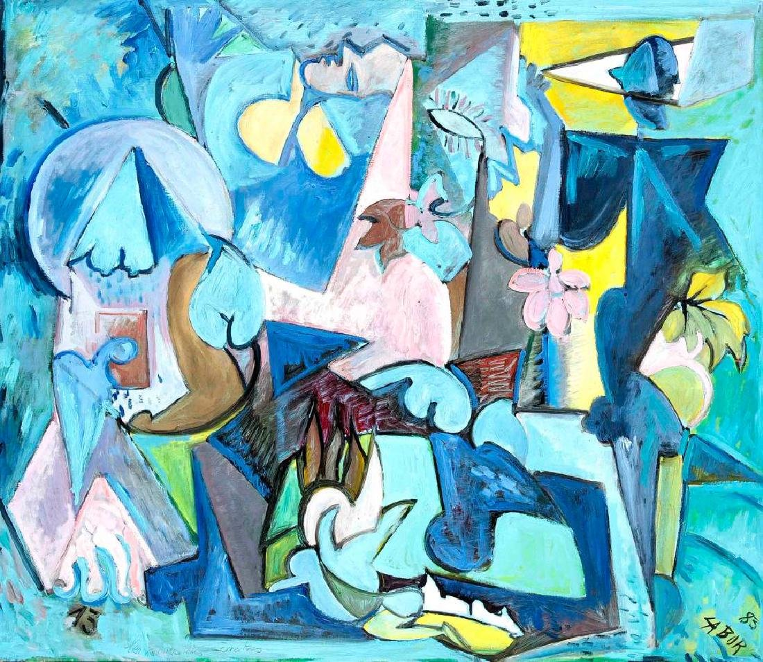 Robert Labor (* 1937), French painter, active on La