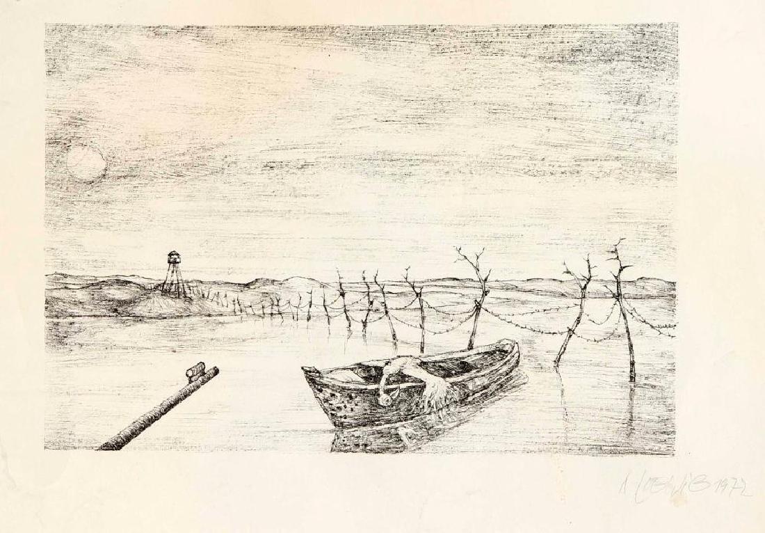 Walter Roshardt (1897-1966), two drawings, portrait of - 7