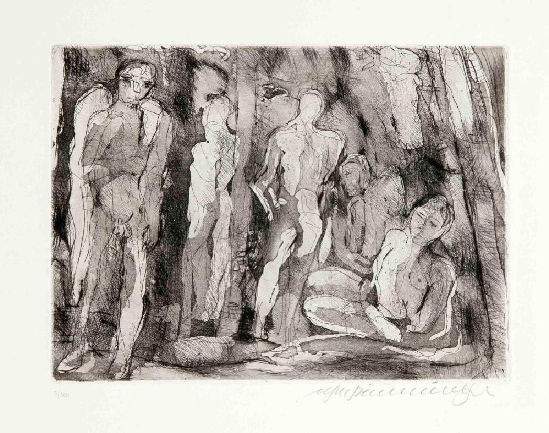 Walter Roshardt (1897-1966), two drawings, portrait of - 8