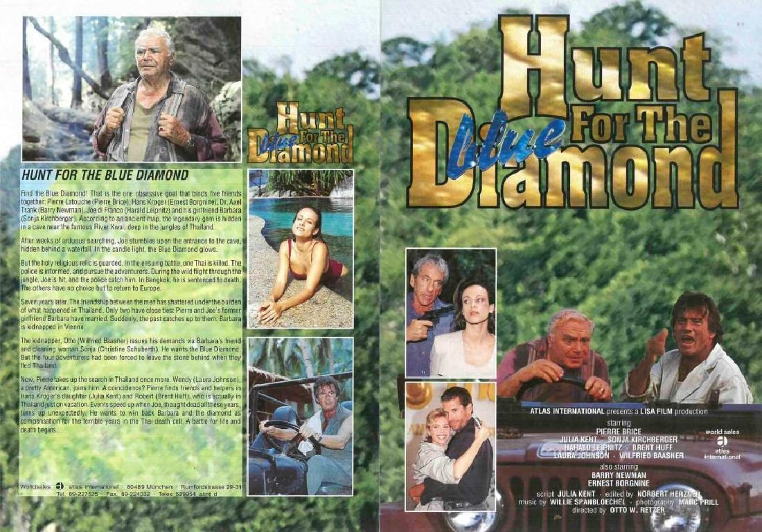 "Konvolut zu ""Der Blaue Diamant"",""The Hunt for the Blue"
