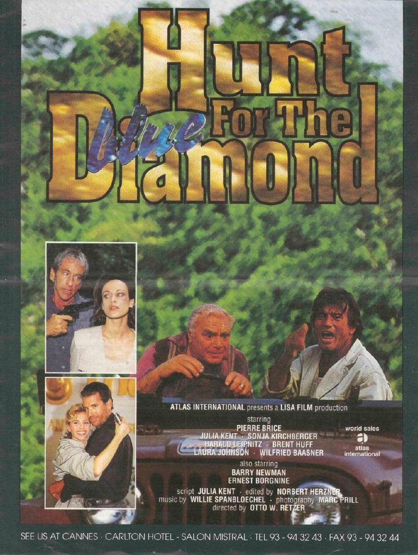 "Konvolut zu ""Der Blaue Diamant"",""The Hunt for the Blue - 6"