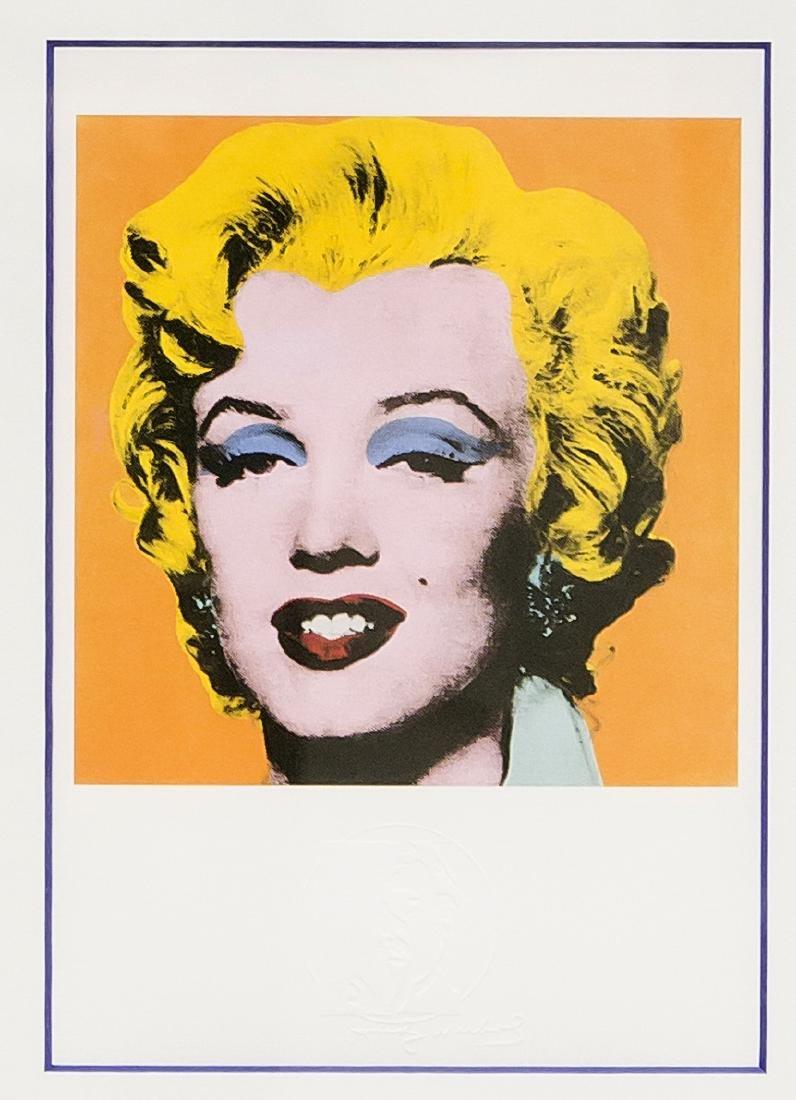 Andy Warhol (1928-1987), ''Shot Orange Marilyn'',