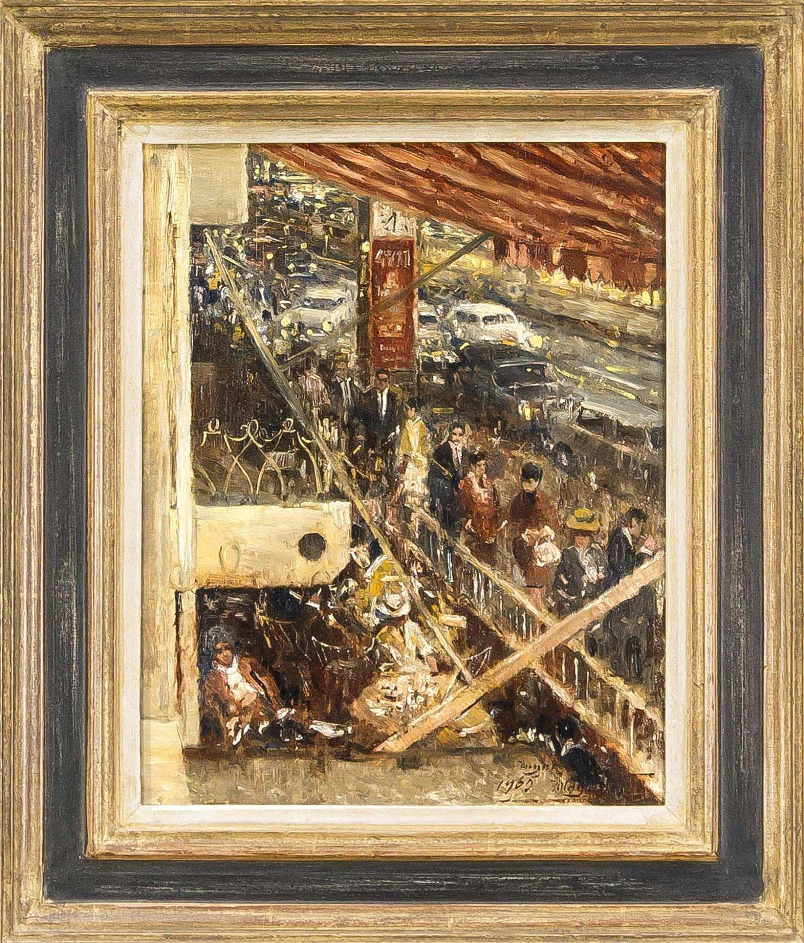 Rolf Dieter Meyer-Wiegand (1929-2006), Rhineland artist