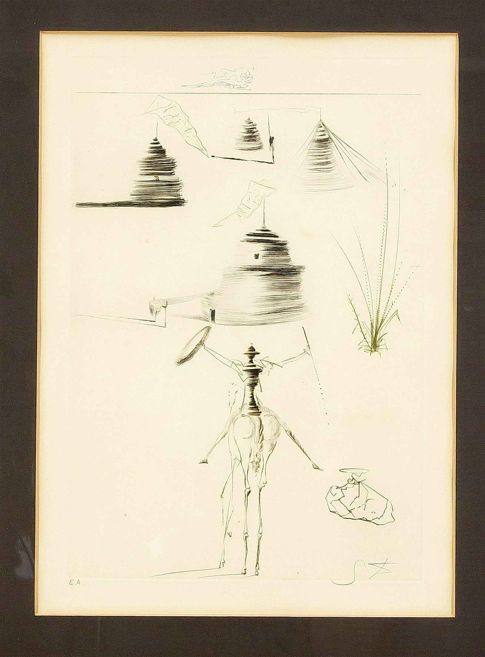Salvador Dalí (1904-1989), ''Le Camp du Roi Marc''