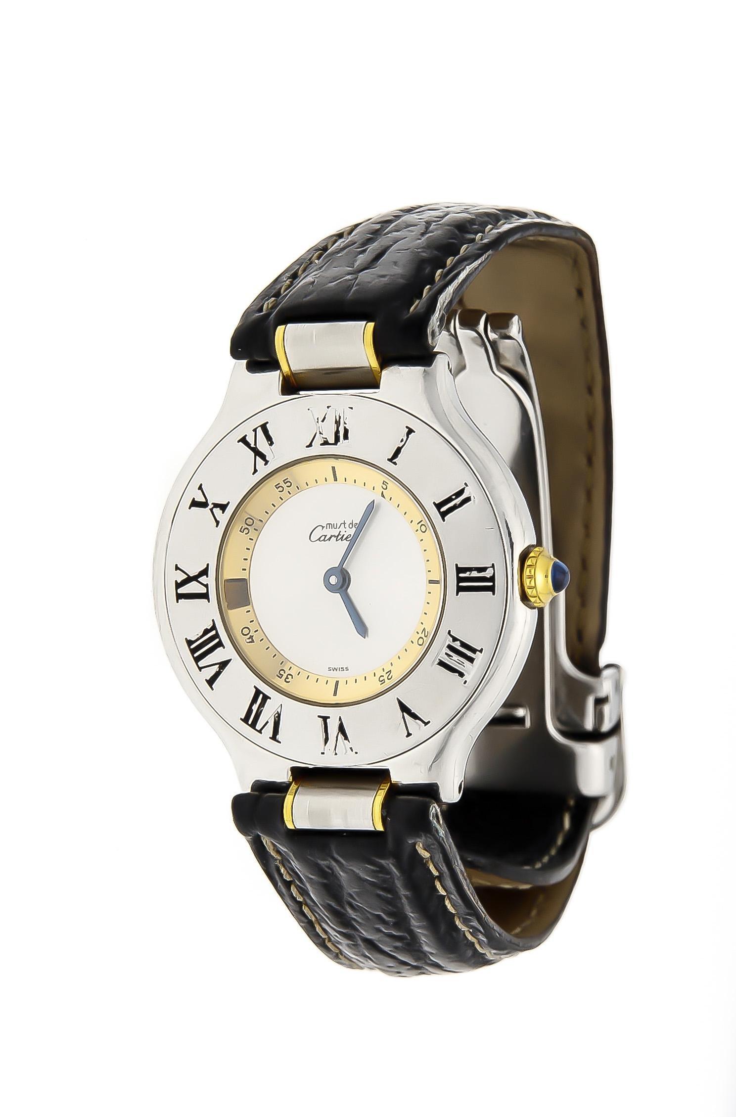 Cartier women's quartz wa