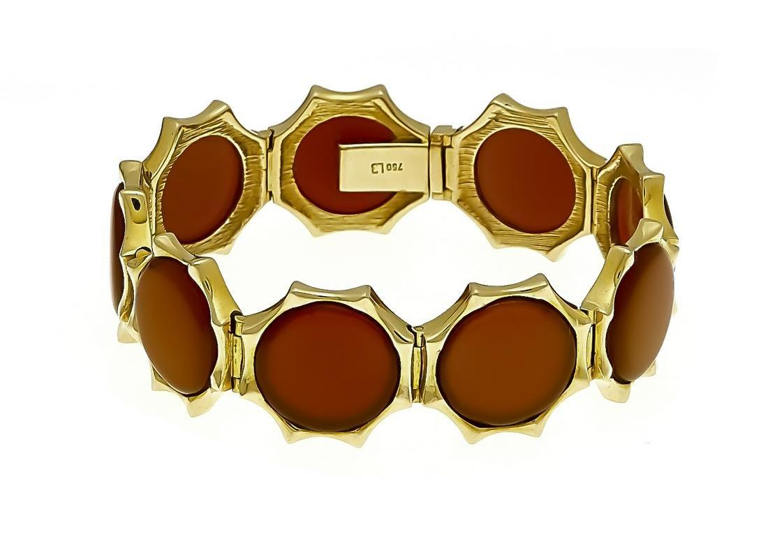 Carnelian bracelet GG 750