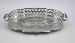 Large oval bowl, 1st half
