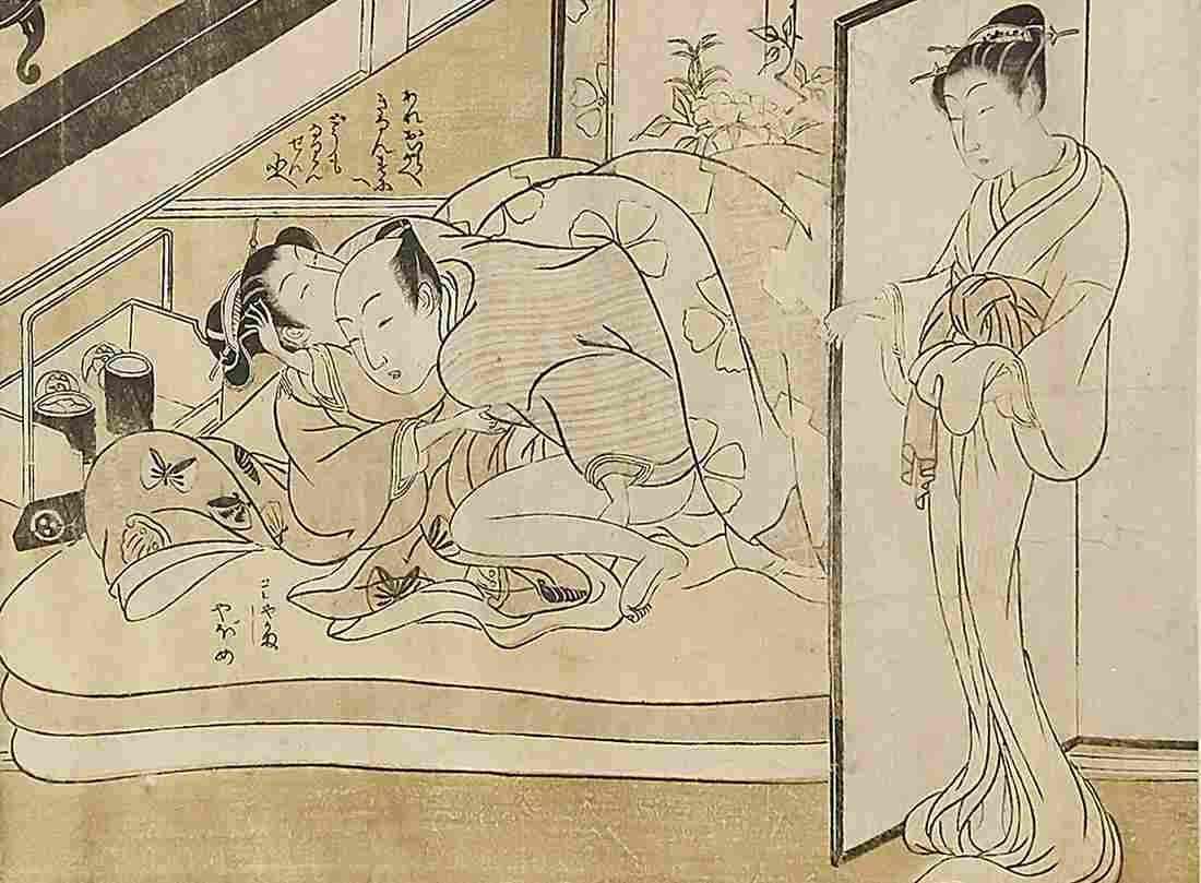 Shunga roll painting by I