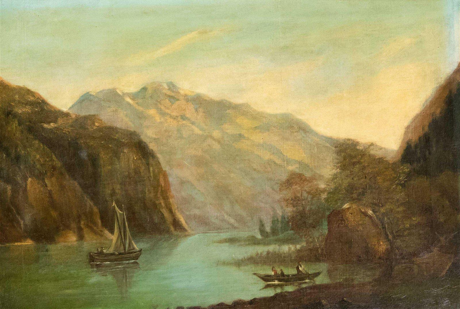 Anonymous landscape paint
