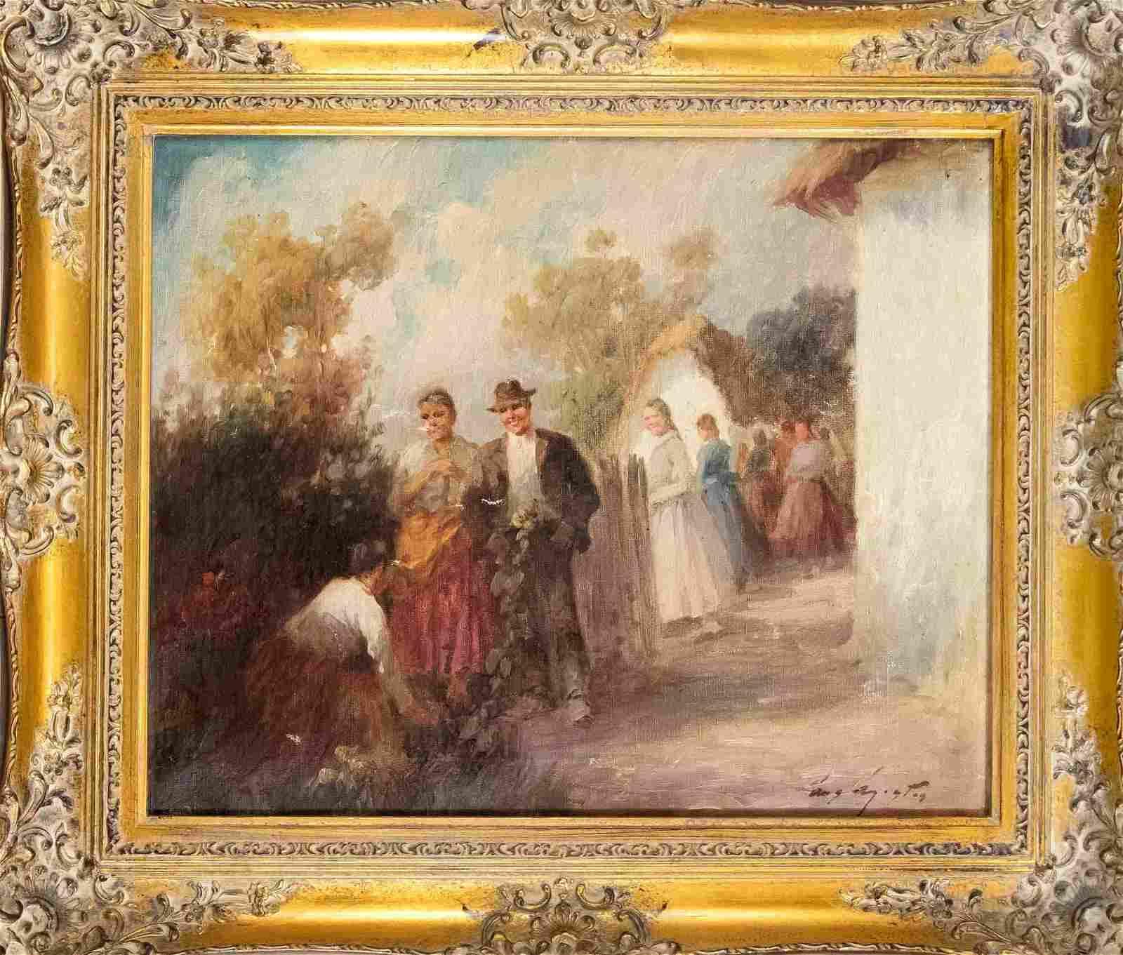 Agoston, Hungarian painte