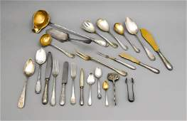 Large cutlery, German, 1st half of the 20th century,
