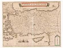 Historical map of Turkey, Ott