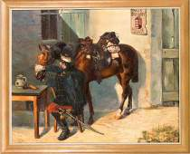 Probably Hungarian painter ar