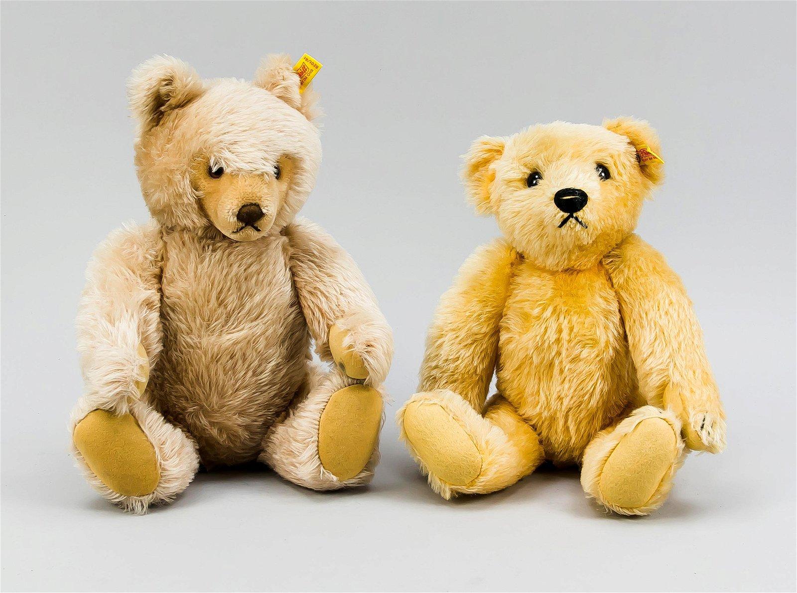 2 Steiff Teddys, Deutschland,