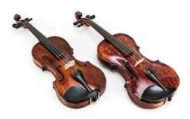 2 Violinen: 1 x Altsächsische