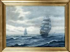 A Bille Danish marine painte