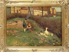 Otto Ahrweiler, genre painter