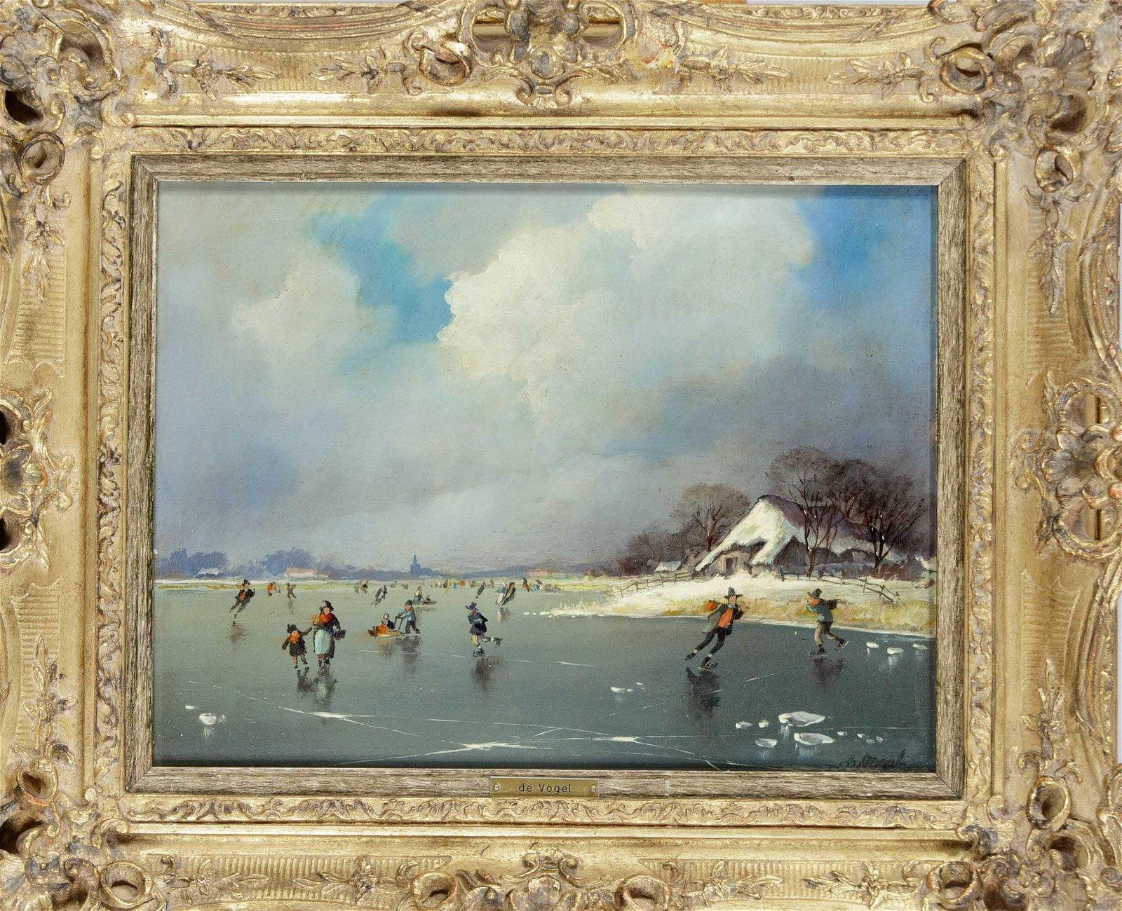 Louis de Vogel, Belgian painte
