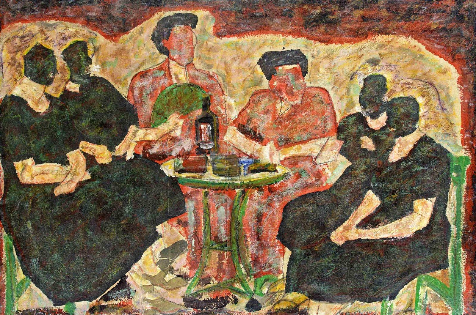 P. Vila, Spanish painter 2nd h