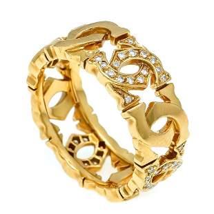 Cartier diamond ring GG 750/000 Re