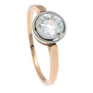 Old European cut brilliant ring RG