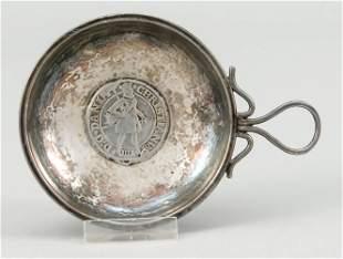 Wine tasting bowl, early 20th centu