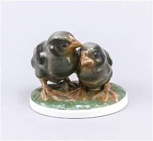 Pair of chicks, Rosenthal, Selb-Bav
