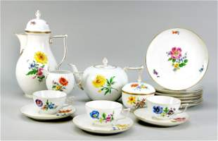 Coffee and tea set for 6 persons, 2