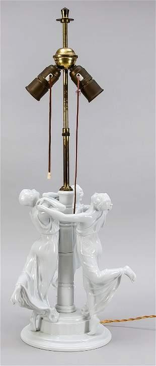 Large table lamp base, Rosenthal, g