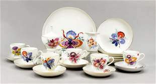 Coffee set for 6 persons, 21 pieces