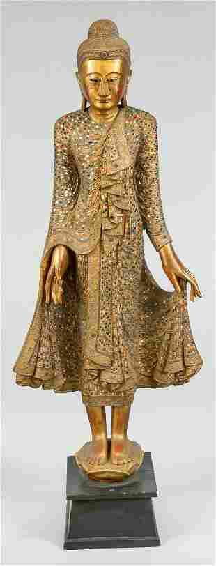 Large Mandalay-style Buddha, Thaila