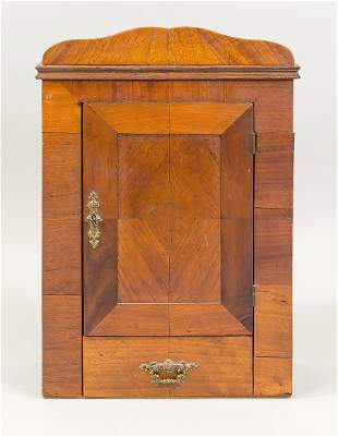 Hanging cabinet, late 19th century,